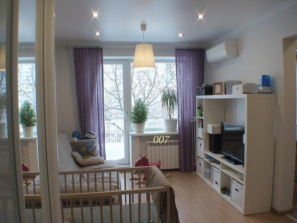 Продается 1-комнатная квартира, площадью 31.00 кв.м. Москва, улица Филевская Малая, дом 8к1