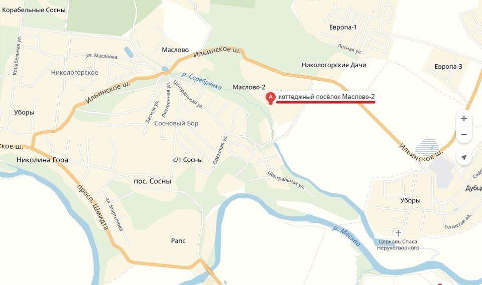 Продается дом, площадью 418.00 кв.м. Московская область, Одинцовский район, деревня Маслово