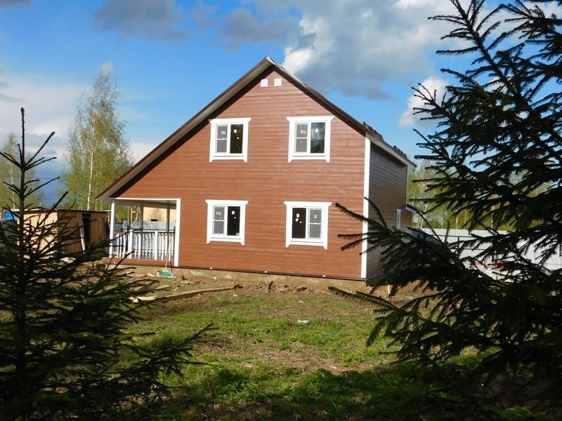 Продается дом, площадью 130.00 кв.м. Московская область, Наро-Фоминский район, деревня Плесенское
