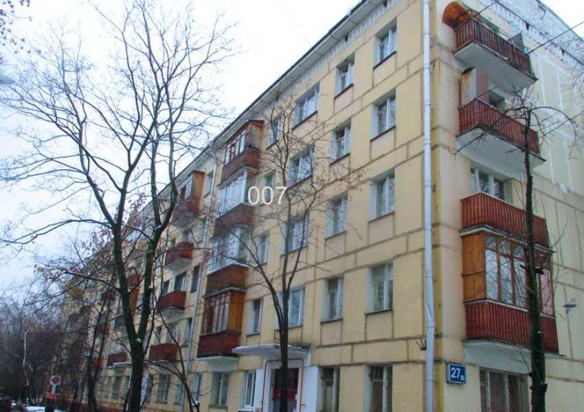Продается 2-комнатная квартира, площадью 44.00 кв.м. Москва, улица Кастанаевская, дом 27к5