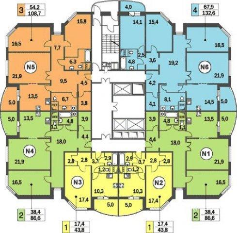 Типовые планировки квартир