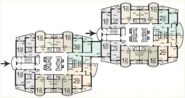 В частности,подверглись преобразованиям дома серии и-155мм